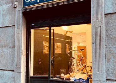 Allestimento e studio negozio FUCHS Milano